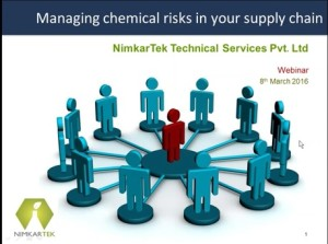Webinar – Managing Chemical Risks in Your Supply Chain